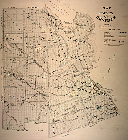 county map with Renfrew on Or Coop besides 8751235415 in addition Lake Tillery furthermore Goathland in addition Dalarna County.