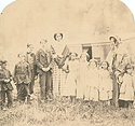Osler and Neighbour Children at the Perram Farm, Tecumseth, 1855 or 1856